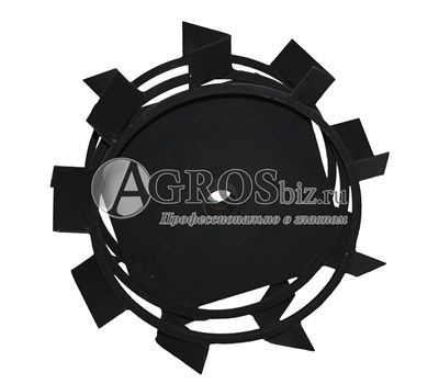 Грунтозацепы с вваренными ступицами для мотоблока 350 мм/150 мм