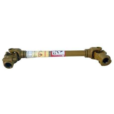 Вал карданный 6*6 шлицов, 730 мм, сечение-трехлимонник, б/к - фото 10254