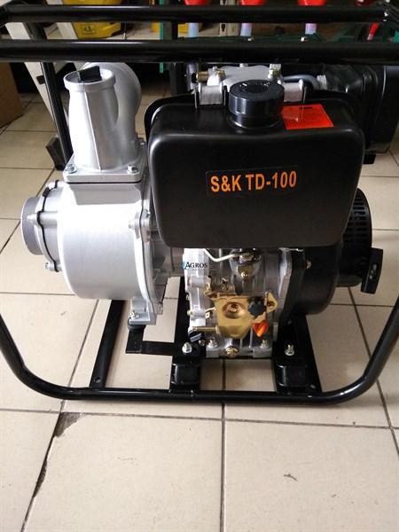 Мотопомпа дизельная S&K TD-100 - фото 10446