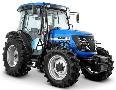 Трактор Solis S110 (110 л. с., 4x4) для обработки полей - фото 10672