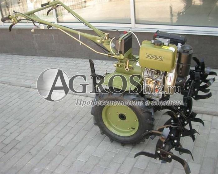 Мотоблок Аврора 135Е 9 л.с. дизельный - фото 4824