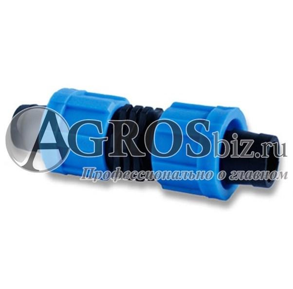 Фитинг для капельного полива ремонтный 100 шт - фото 5757