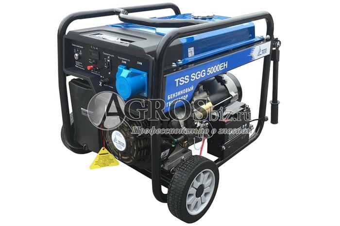 Бензогенератор TSS SGG 5000EH, 5кВт с электростартером - фото 9860