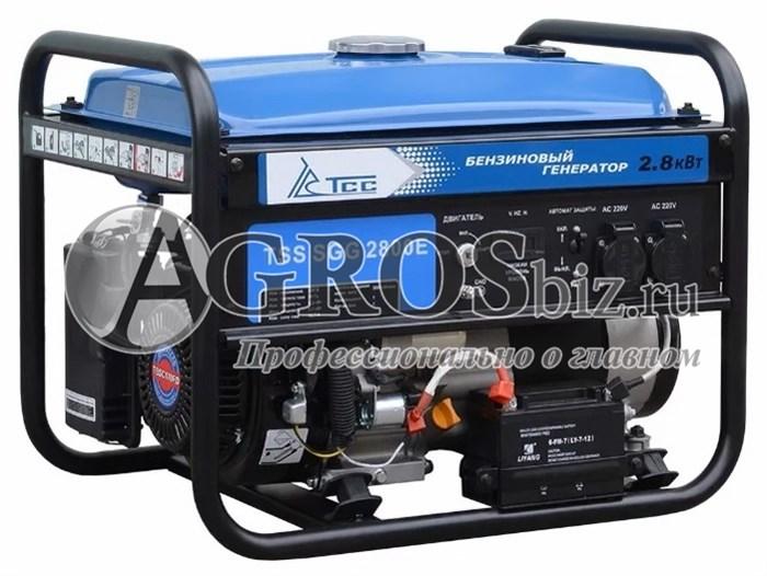 Бензогенератор TSS SGG 2800E 2,8 кВТс электростартером - фото 9862