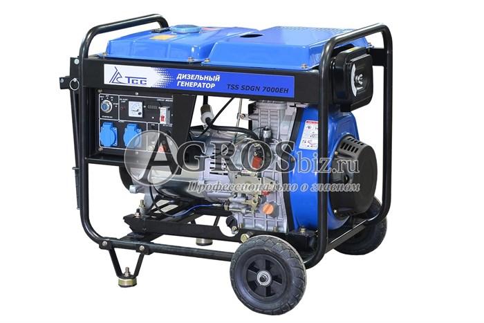 Дизельный генератор TSS SDGN 7000 EH 6,5кВТ с электростартером - фото 9874