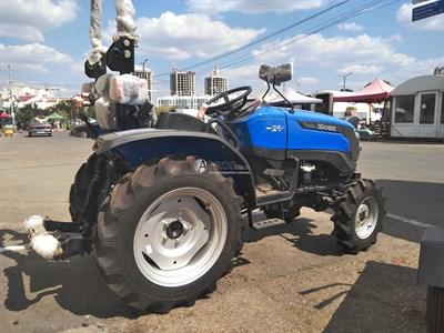 Минитрактор Solis 26 на сельскохозяйственных колесах